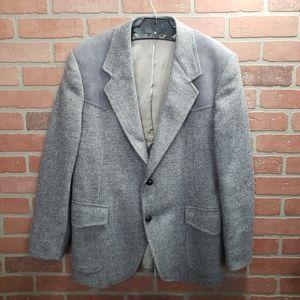 Vintage Pendleton Men's Wool Blazer Size 42